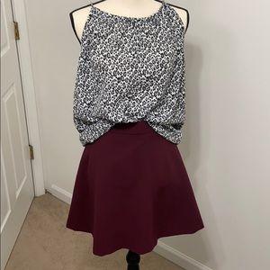 A line Loft short skirt / mini skirt